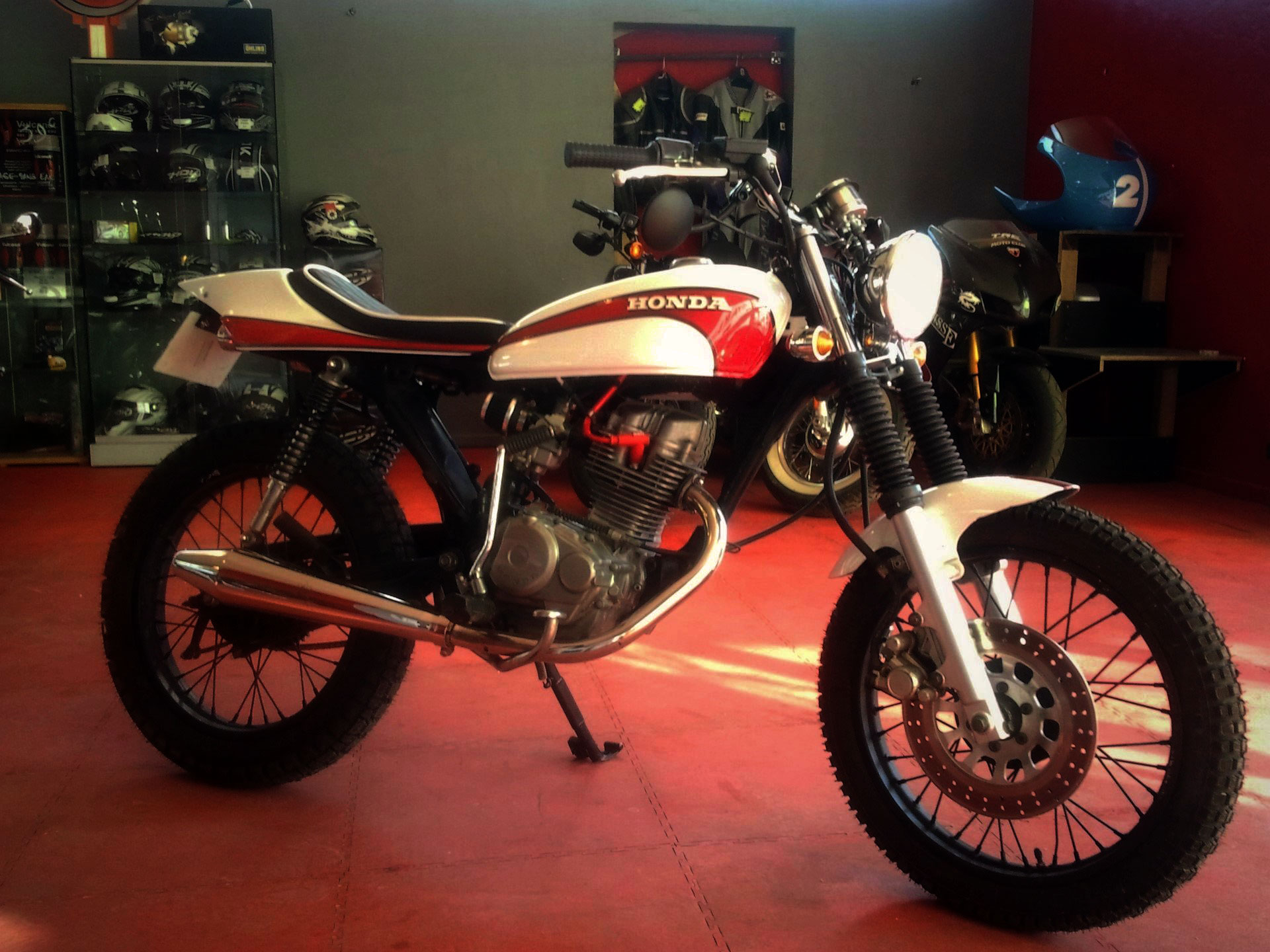 HONDA 125 CG - MODE TRACKER
